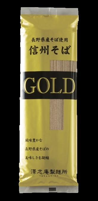 長野県産そば使用 信州そばGOLD